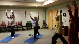 Senior Center Yoga